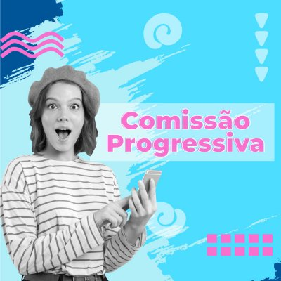 Comissão progressiva
