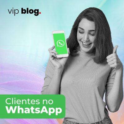 Clientes no WhatsApp