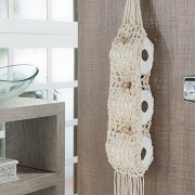 PORTA PAPEL CROCHE 1 PC - COR 1
